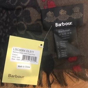 Barbour Jackets & Coats - Barbour Union Jack scarf - New with tags
